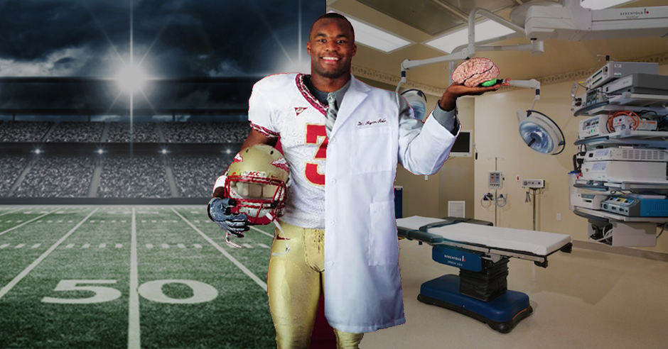 Myron Rolle's Transition From The NFL To The Operating Room - Black Main Street