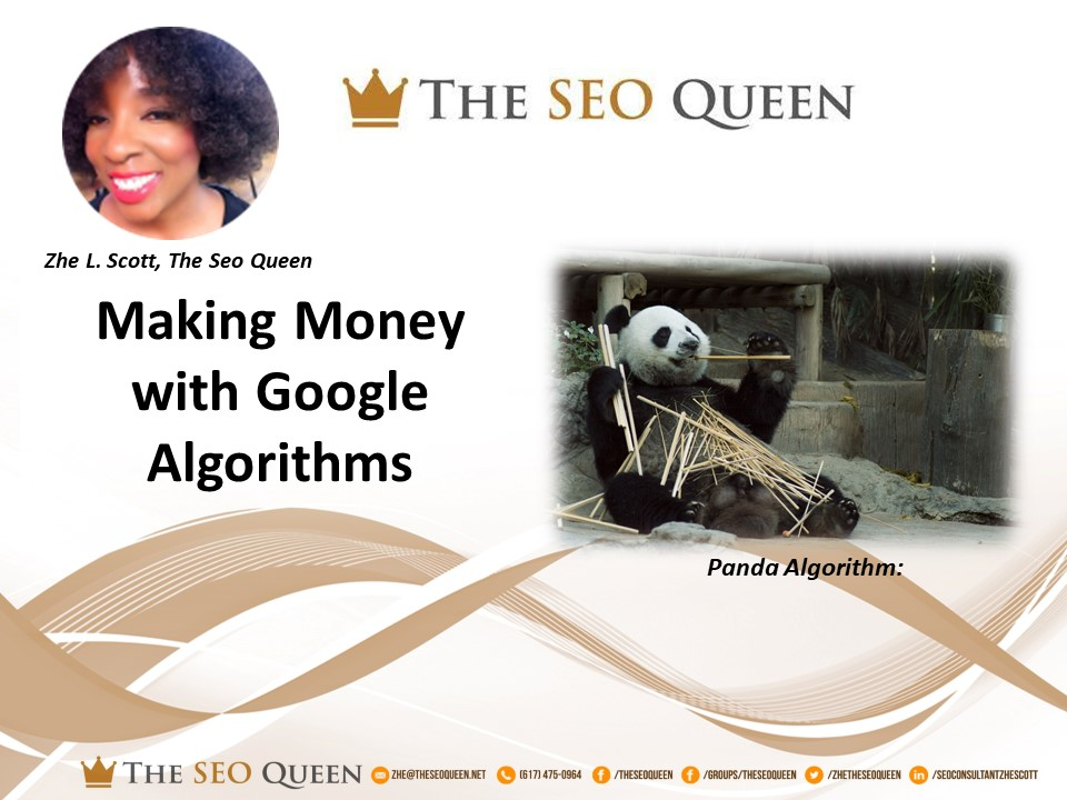 Leveraging the Panda Algorithm to make Money on Google