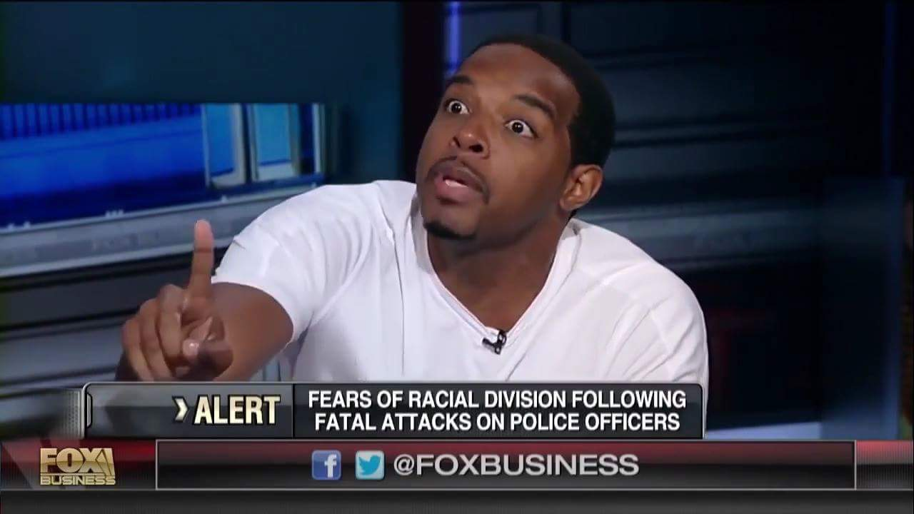 Jay morrison destroyed  fox host about why  black people are not prosperous in america   — Products shown: Black Power Fist  and Alkaline Vegan For Newbies .