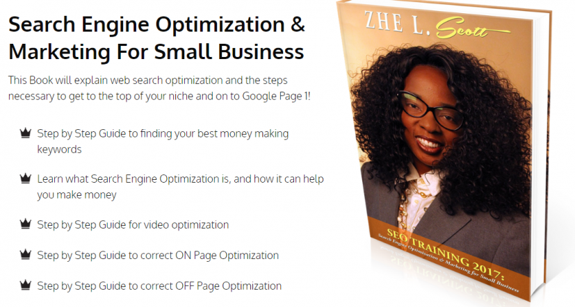 Zhe L. Scott Announces SEO Training Guidebook -- TSQ Marketing Inc | PRLog