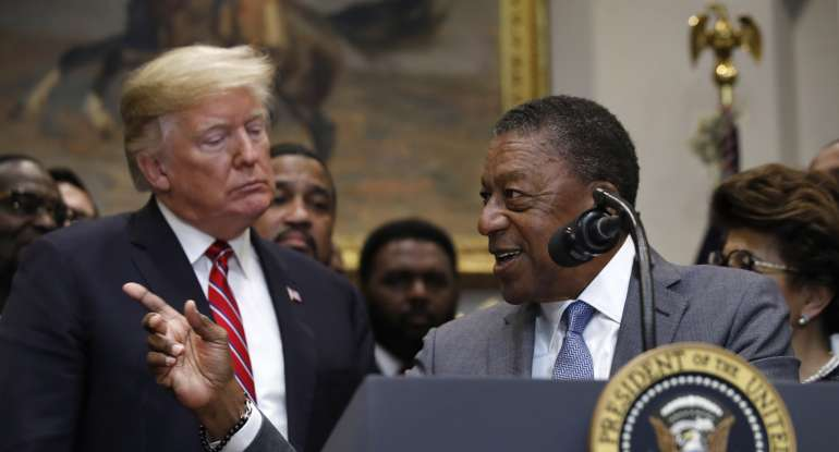 First Black Billionaire Gives Trump an 'A+' for the Economy