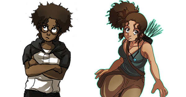 Southeast Queens Scoop Blog - Streetwise Digital News: Checkout This 1st Anime-Style Comic Series With Powerful Black Characters