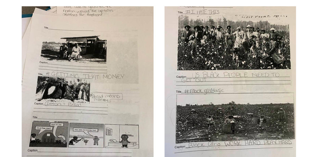 Teacher Apologizes For Telling Students To Write 'Funny' Captions On Slavery Pictures - Black Main Street