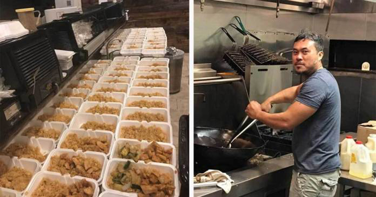 This Kind Restaurant Made 1,000 Free Meals For Hurricane Victims, Hasn't Been Covered By Media. Let's Thank Them