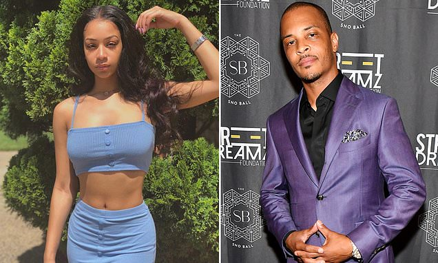 Rapper T.I. has a doctor check his daughter's hymen every year | Daily Mail Online