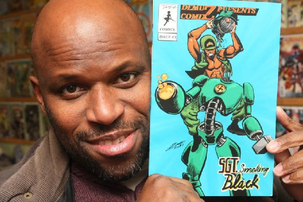 Worthing artist launches first comic book series - and wants it to be turned into a Hollywood film - Worthing Herald
