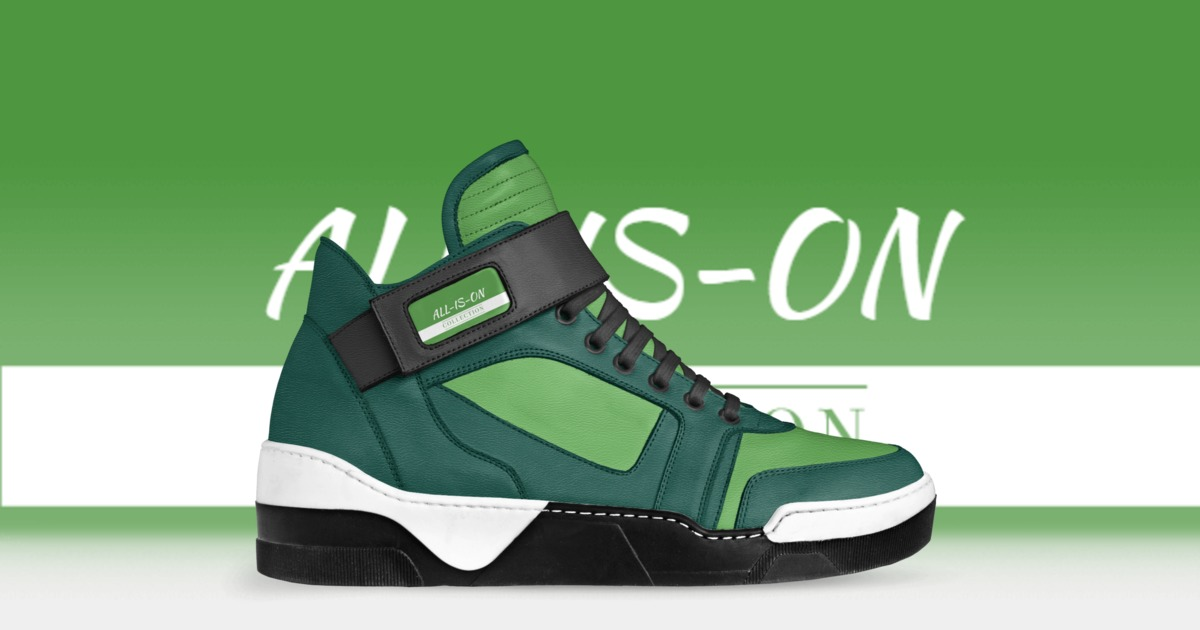 ALL-IS-ON | A Custom Shoe concept by Mary Knox