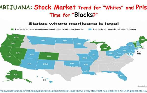 "MARIJUANA: Stock Market Trend for ""Whites"" and Prison Time for ""Blacks?"""