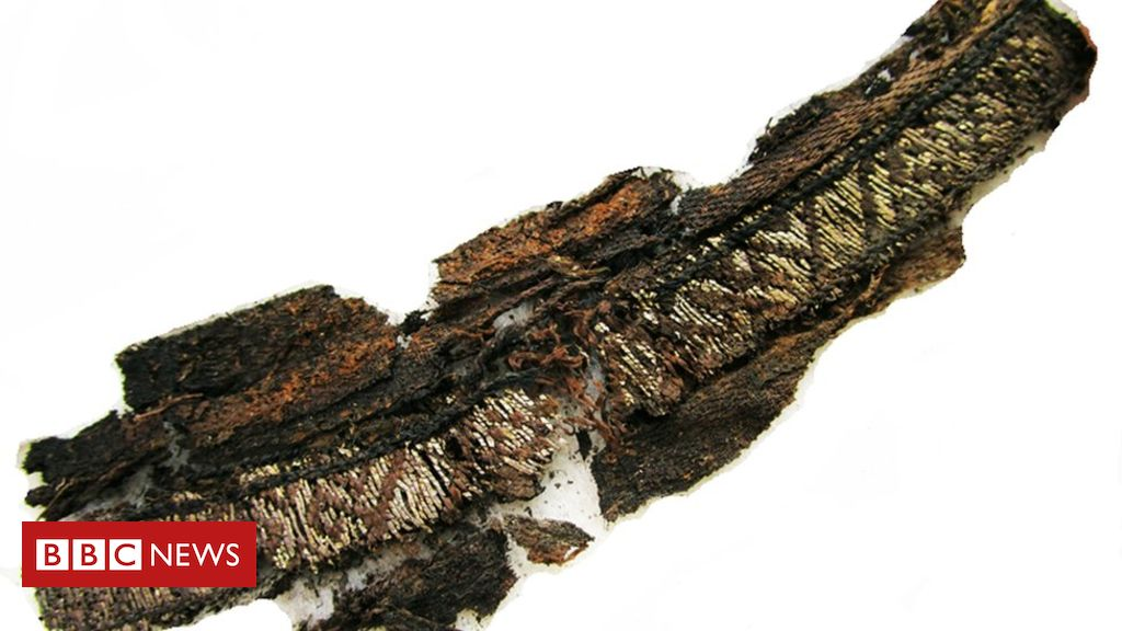 Why did Vikings have 'Allah' embroidered into funeral clothes? - BBC News
