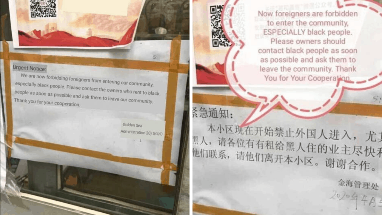 """""""No Blacks Allowed"""": Racist Chinese Are Attacking Blacks Amid Coronavirus Pandemic 