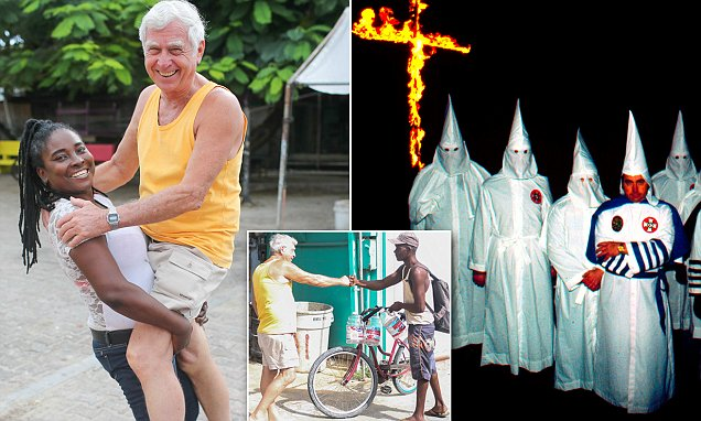 KKK Imperial Wizard Bill Wilkinson found in Belize insists he isn't racist | Daily Mail Online