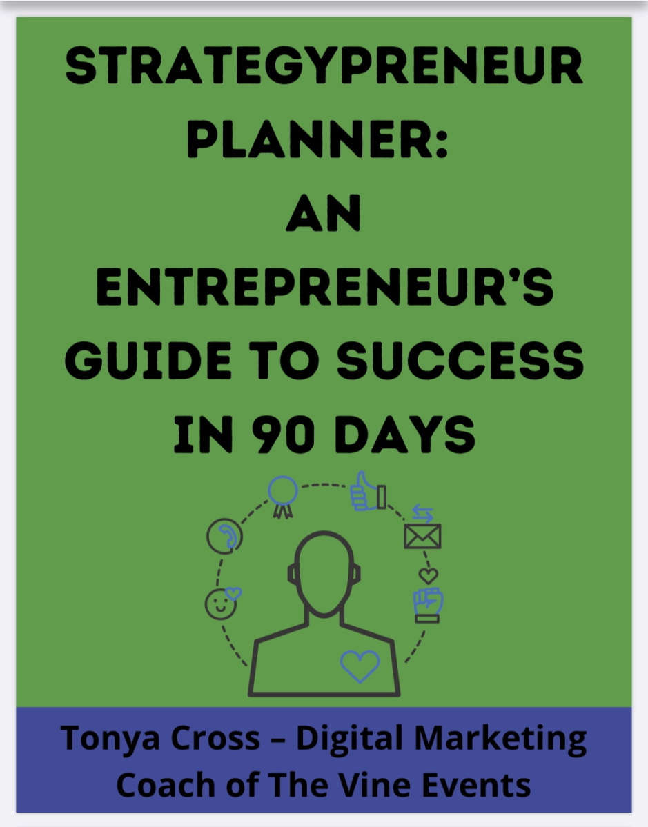 Strategypreneur Planner: Seize Success With A Plan! | The Vine Events