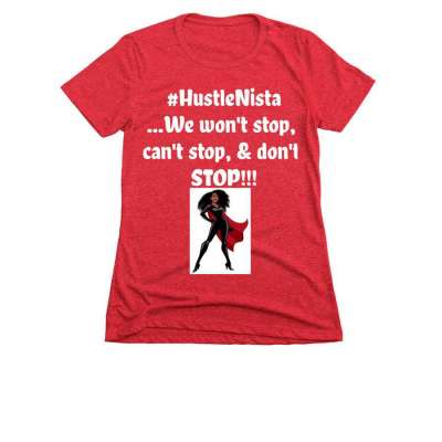 "Introducing the...""HustleNista"" Custom Tee Profile Picture"