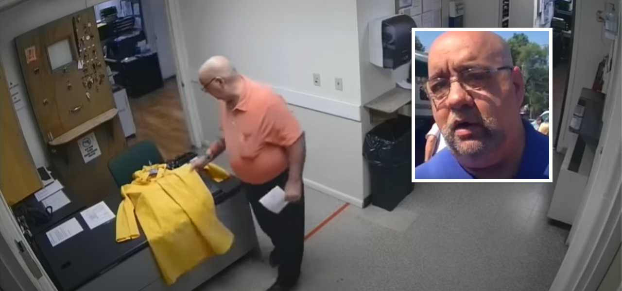 Police Chief Resigns After Camera Catches Him Putting KKK Sign On Black Officer's Desk - Black Main Street