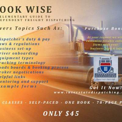 Book Wise: An Elementary Guide to Independent Freight Dispatching Profile Picture